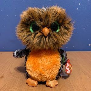 Ty beanie boo's midnight the Halloween owl